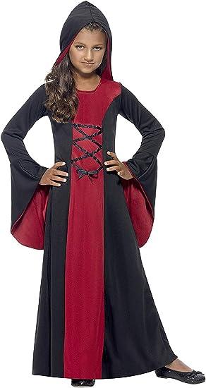 SmiffyS 43031L Disfraz De Vampiresa Con Vestido, Capucha Y Lazada ...
