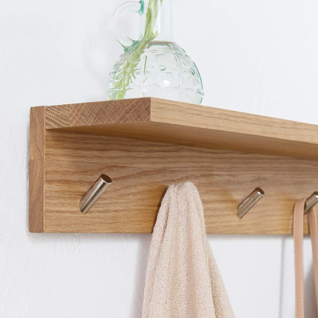 Amazon.com: LBMy Hangers Solid Wood Coat Rack Hall Wall Coat ...