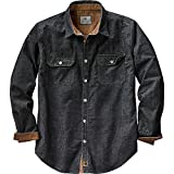 Legendary Whitetails Mens Canyon Ridge Corduroy Shirt Black - Best Reviews Guide