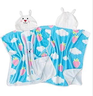 Tunica con cappuccio spa Conigli carini con auricolari Bambini Accappatoio in cotone biologico Bambini Bebè Costume da bagno Costumi da bagno Asciugamano da spiaggia Bagno Accappatoio da bagno con cap