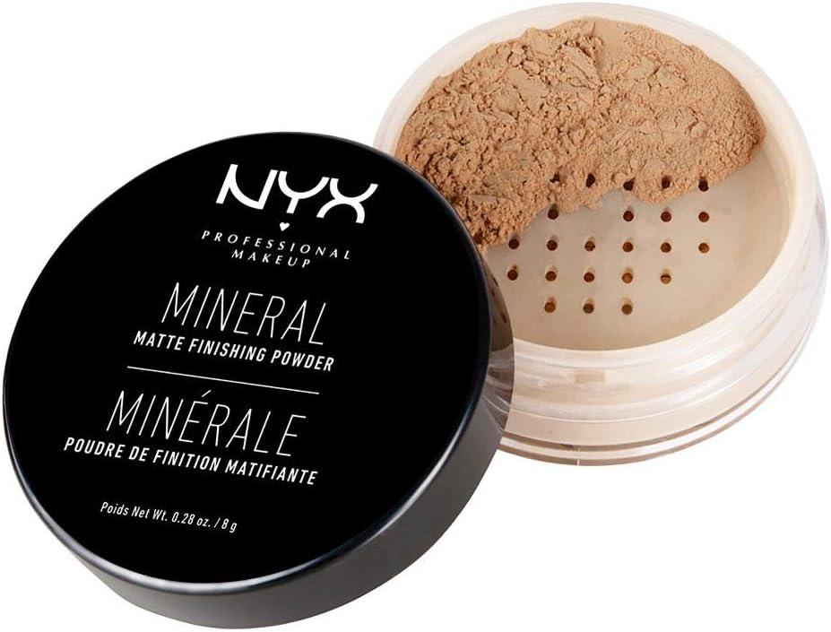 NYX Professional Makeup Polvos fijadores Mineral Finishing Powder