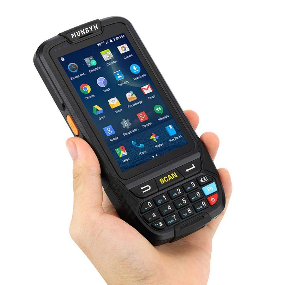 PDA Barcode Scanner Warehouse MUNBYN Rugged