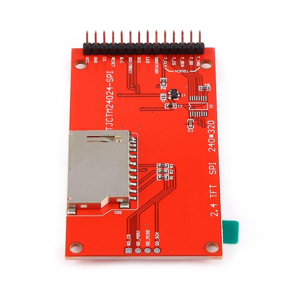 2,4 Zoll 240x320 SPI TFT LCD Serielles Anschlussmodul mit PCB ILI9341