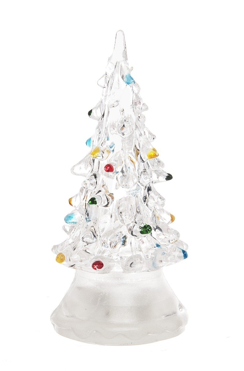amazoncom ganz light up christmas tree large acrylic home kitchen - Small Lighted Christmas Trees