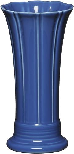 Homer Laughlin Fiesta Medium Vase, 9-5 8-Inch, Lapis