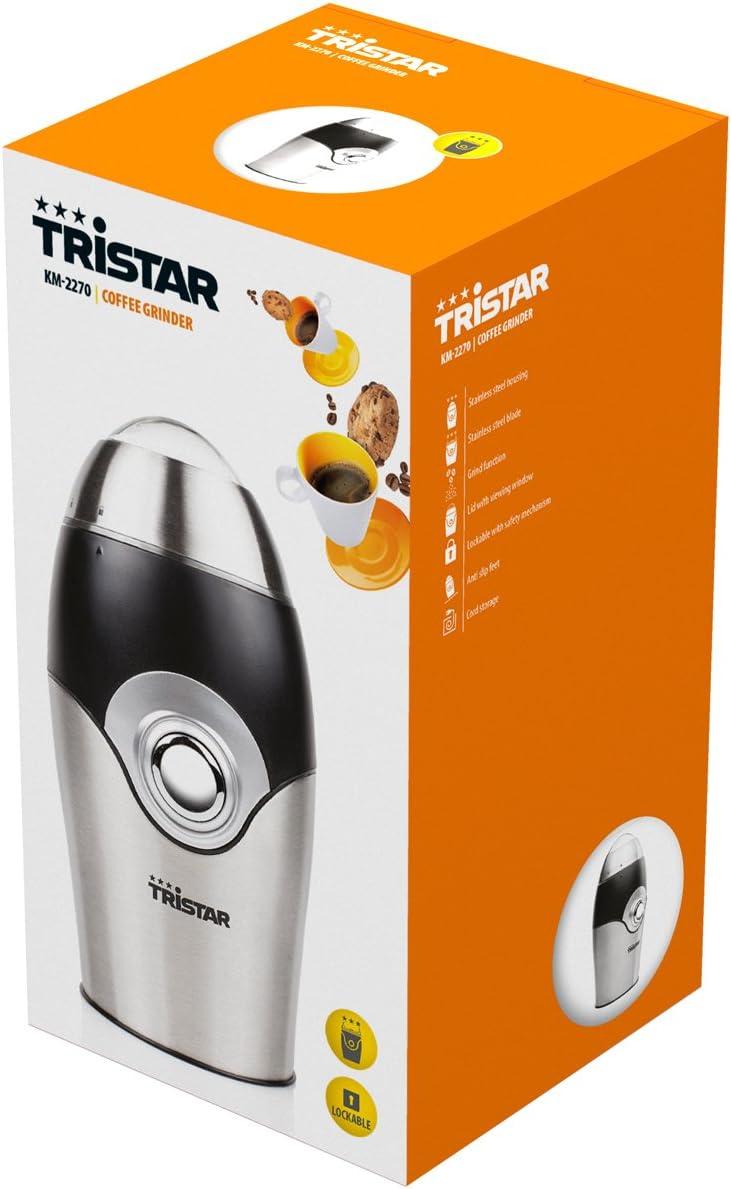 Tristar KM-2270 Moulin /à Caf/é Inox 150 W