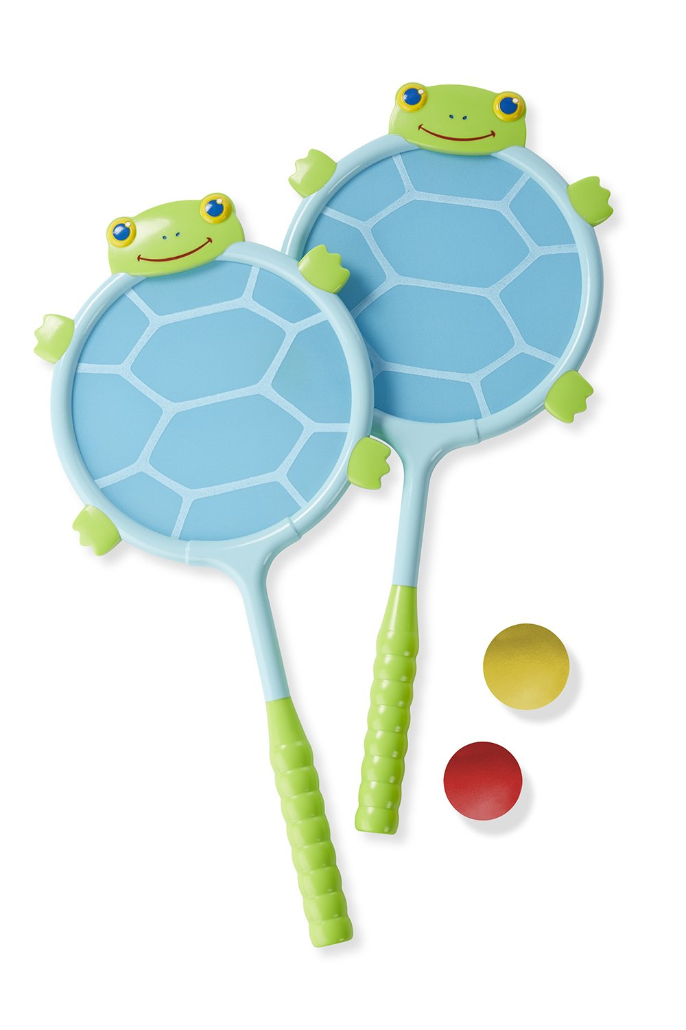 Melissa & Doug Sunny Patch Dilly Dally Racquet and Ball Game Set