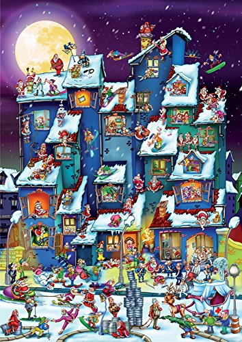 Christmas Antics Jigsaw Puzzle, 1000-Piece