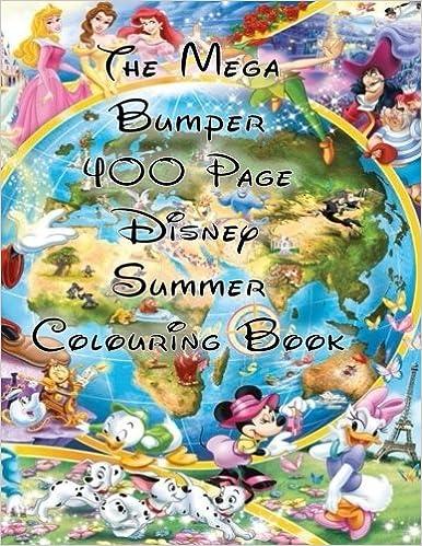 The Mega Bumper 400 Page Disney Summer Colouring Book: BP Publishing ...
