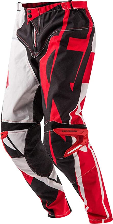 Nerorosso Amazon Pantaloni Profile Mx it Acerbis Auto Motocross E cISWIF
