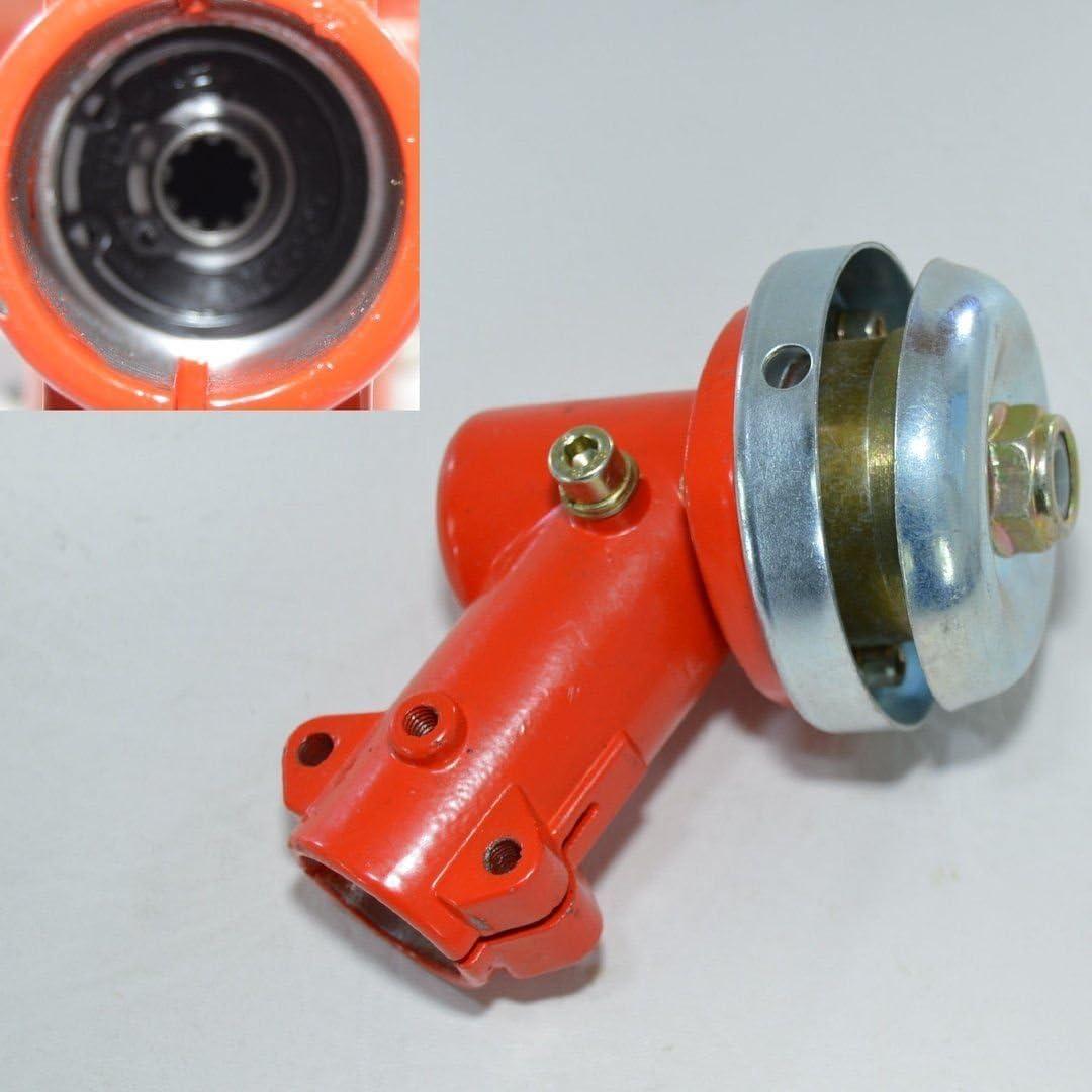 Getriebe Winkelgetriebe Motorsense Freischneider 7 Zahn 26mm Rohr Blau