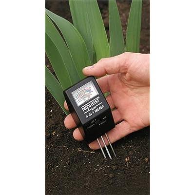 Quoprolancy Luster Leaf 1818 RAPIDTEST 4-in-1 Mini Soil Plant PH Moisture Light Meter Tester ;from#b-n-s : Garden & Outdoor