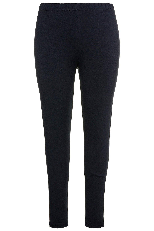 Ulla Popken Women's Plus Size Basic Comfort Fit Leggings Navy Blue 20/22 485548 71