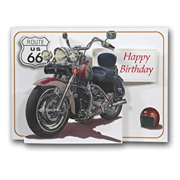 Happy birthday motorbike harley davidson pictoria press 3d pop happy birthday motorbike harley davidson pictoria press 3d pop up greeting card bookmarktalkfo Image collections