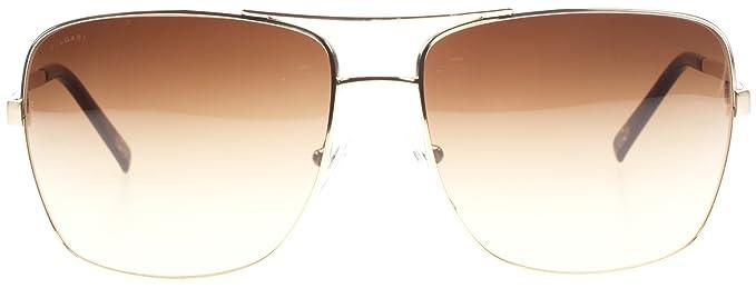 Amazon.com: Bvlgari 5019 278/13 Oro 5019 Aviator anteojos de ...