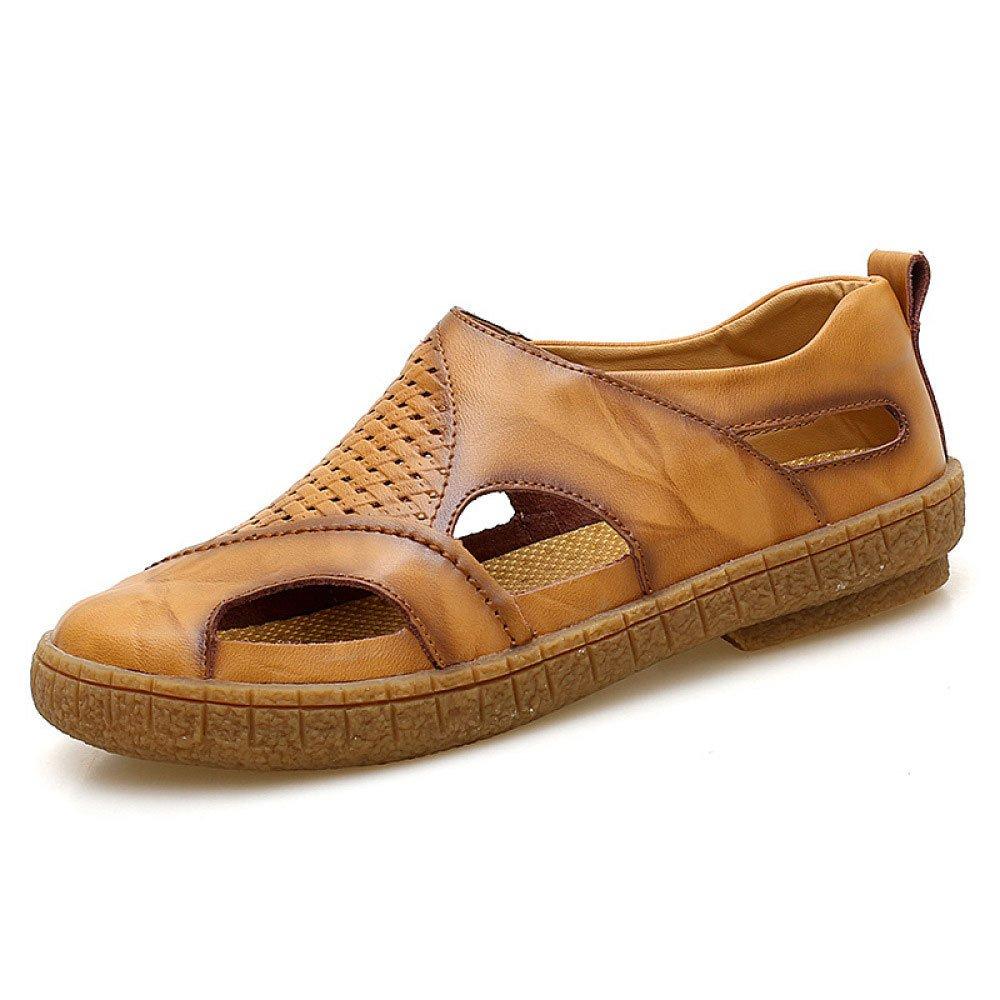 Sandalias De Moda De Verano Zapatos Cómodos Salvajes Comodines Zapatos De Hombres Respirables 38 EU Brown