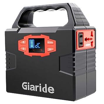 Giaride 150Wh Generador de Energía Solar 220V AC 12V DC Salida USB ...