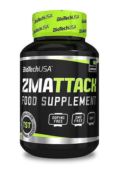 BioTech ZMAttack Potenciador de la Testosterona - 120 Cápsulas