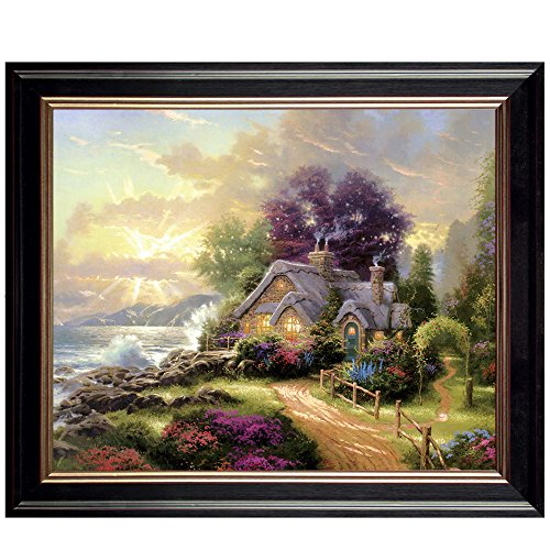 Framed Canvas Oil Painting Prints Classic European Architect