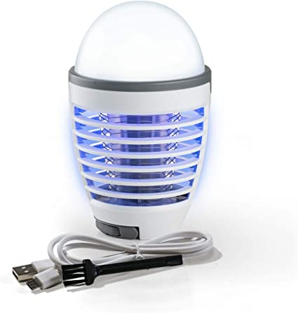 Elektrische Fliegenklatsche Fliegenfänger LED Insektenlampe USB Moskito Killer