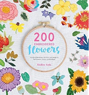 The Hand-Stitched Flower Garden: 40 Beautiful Floral Designs to