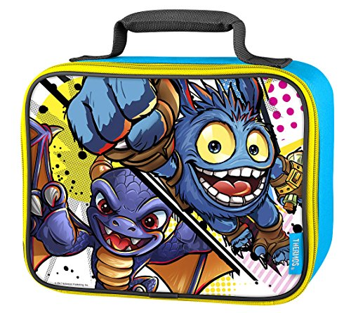 Skylanders Thermos Soft Insulated Top Handle Zipper Lunchbox