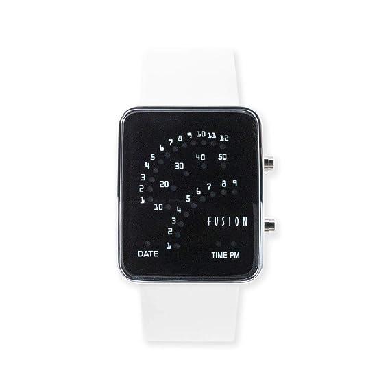 Dakota Fusion - Reloj Digital con luz LED (35 mm, Resistente al Agua ...