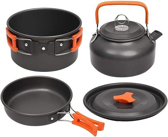 GJSC Utensilios de Cocina de Camping Kit de cocinar al Aire ...