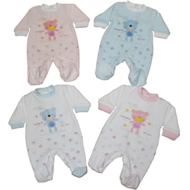 Mellow Be Pelele para dormir - para bebé niño Azul azul claro Recién nacido: Amazon.es: Ropa y accesorios