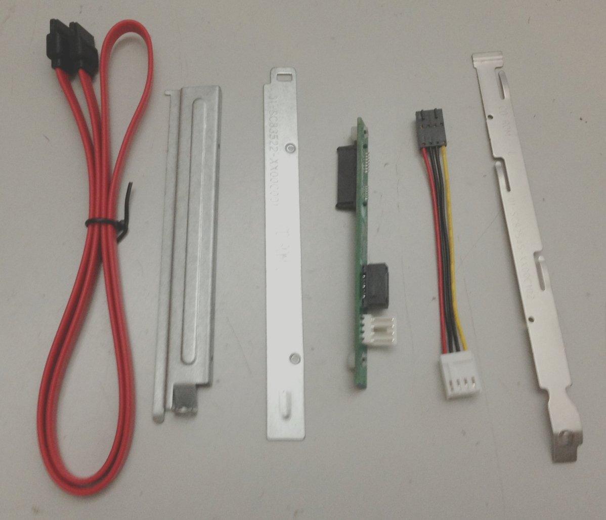 Amazon.com: Supermicro Accessory MCP-220-81502-0N DVD SATA Kit SC815 ...
