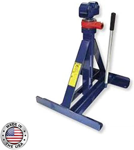 CURRENT TOOLS Reel Stand – Ratchet Type Reel Holder with Ratcheting Mechanism Wide Base – 680