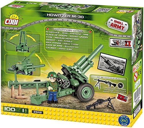 1 figurine Cobi 100 pièces Mitrailleuse Flak 36//37 8,8 cm Petite armée