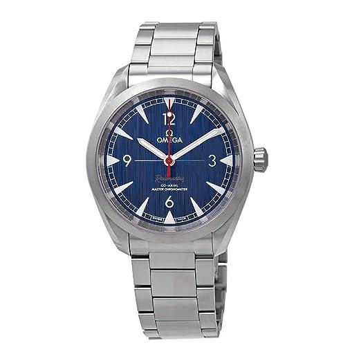 Omega Seamaster - Reloj automático para Hombre, Esfera Azul, 220.10.40.20.03.001: Amazon.es: Relojes