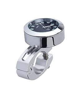 """ROSENICE Mount Digital Clock Mini Waterproof Digital Watch 7/8"""" Motorbike Bicycle Clock"""
