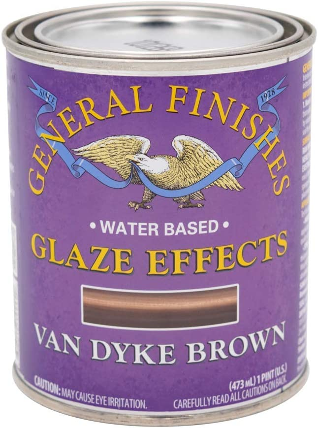 General Finishes Water Based Glaze Effects Clear Base 1 Pint