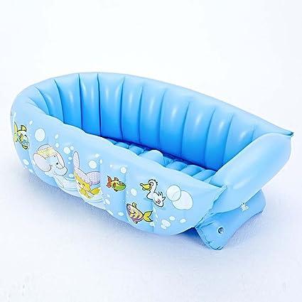 HAO SHOP Bañera Inflable - Baby Shower (0-4 Años) Bañera Calentador Plegable