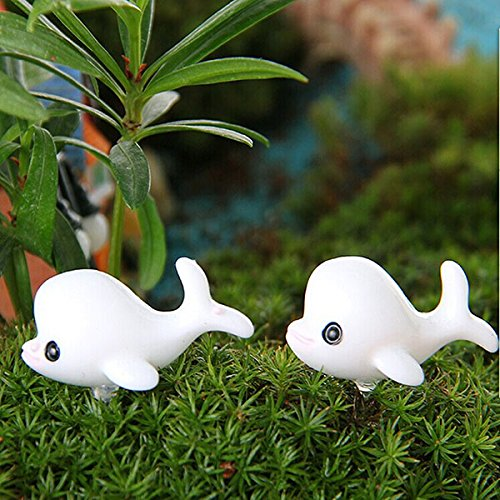 Kelly And Michael Costumes (Garden Landscaping & Decking - Miniature Toys Dollhoe Miniatures - Diy Miniature Lovely Dolphin Ornaments Potted Plant Garden Decor - Miniatures Dollhoe Accessories - 1PCs)