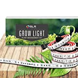 SLR 5pc LED Grow Light 20 Inch Strips Expansion for Indoor Plants, Gardens, Greenhouses, Vegetables, Herbs, & Flowers with 250 Red & 50 Blue for Hydroponics and Horticulture [STRIPS ONLY, no plug]