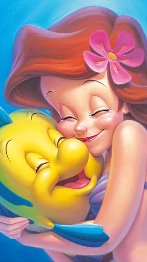 ディズニー アリエル&フランダー XFVGA(480×854)壁紙 画像63871 スマポ
