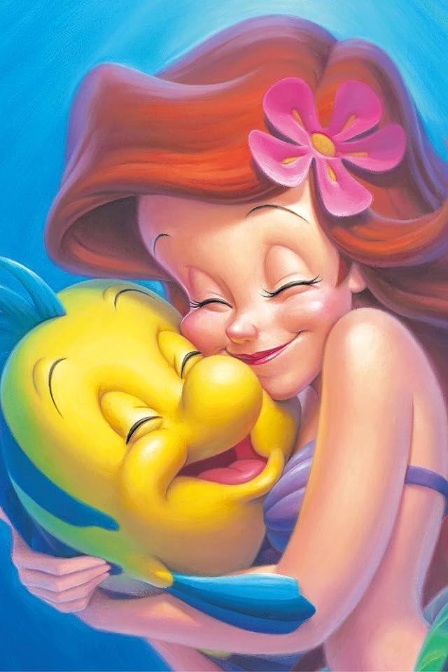 ディズニー アリエル&フランダー iPhone(640×960)壁紙 画像59520 スマポ