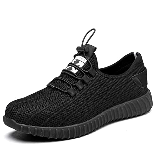 Amazon.com: AiKim Zapatillas de seguridad para hombre, de ...