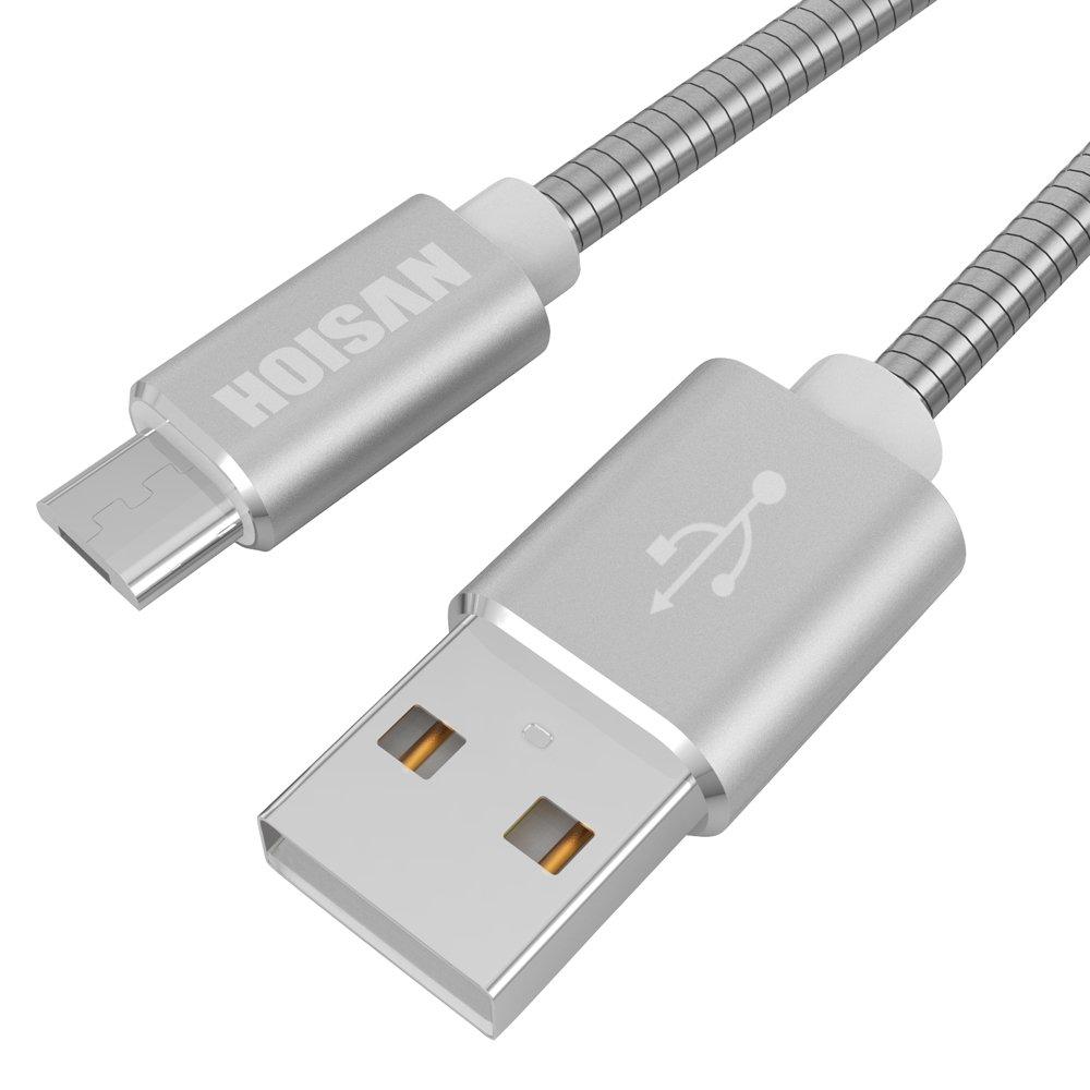 HOISAN Micro USB Kabel | 1M Handy Daten- und Ladekabel: Amazon.de ...