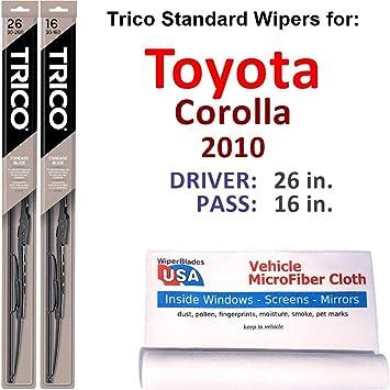 For Toyota Corolla Driver Left Window Rubber Wiper Blade Insert Refill Genuine