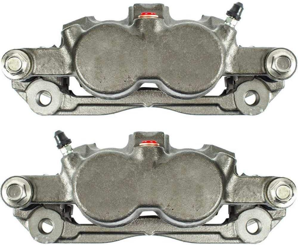 Auto Shack BC3010PR Front Disc Brake Caliper Pair Dual Piston