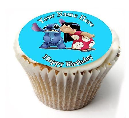 SimplyCakeToppers 20 Decoraciones comestibles para Cupcakes ...