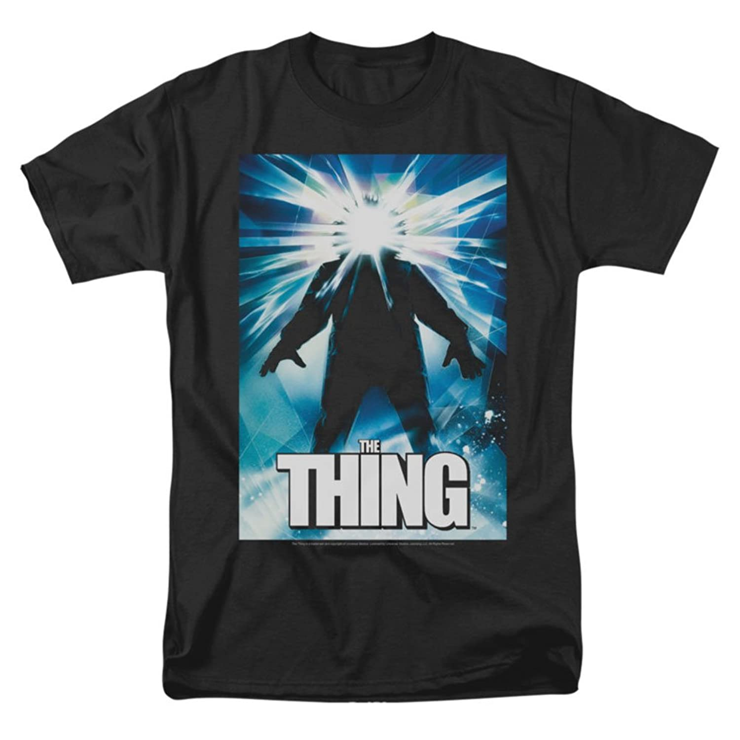 The Thing Science Fiction Horror Thriller Movie Poster Adult Mens T-Shirt
