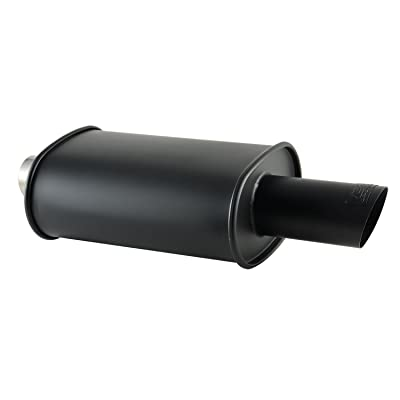 DC Sports EX-5027B Black Muffler: Automotive