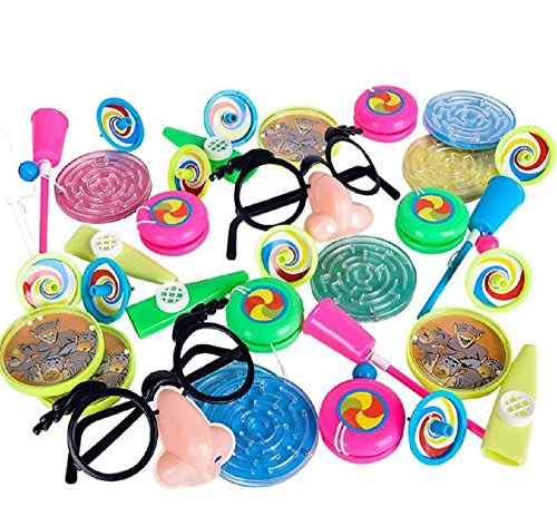 [EASTER BASKET FILLERS, 64pc PINATA TOY ASSORTMENT, The perfect prize package for piñata parties. This colorful collection includes a variety of prizes. Assortments may vary. Each 64-piece set in polybag with printed header. Ages] (Ups Package Costume)