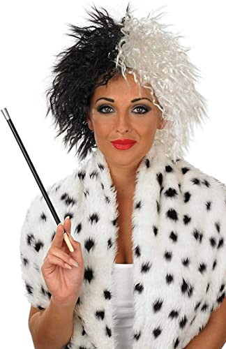 Peluca y boquilla de cigarrillo para disfraz de Cruella de Vil ...