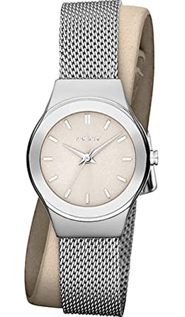fadc00c01 Buy DKNY Double-Wrap Steel/Leather Women's watch #NY8799 Online at ...